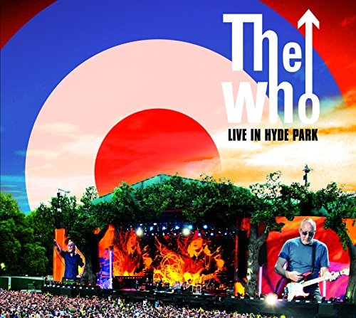 Who Live In Hyde Park 2cd DVD Blu Ray Combo Pack