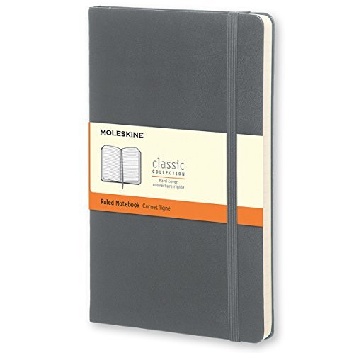 Moleskine Moleskine Classic Ruled Notebook Pocket Hard Cover