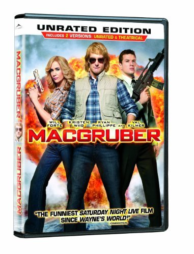 Macgruber Forte Kilmer Wiig Phillippe Unrated Edition