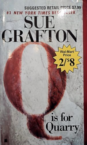 Sue Grafton Q Is For Quarry