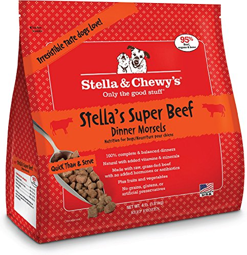 S&c Raw Morsels Beef 4lb