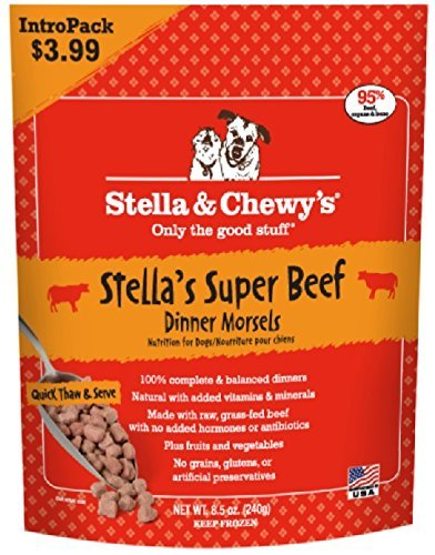 S&c Raw Dog Morsels Beef 8.5oz