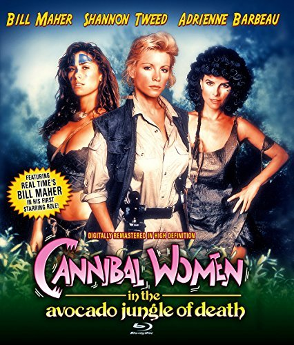 Cannibal Women In The Avocado Jungle Of Death Maher Tweed Barbeau Blu Ray Pg13