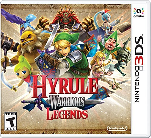 Nintendo 3ds Hyrule Warriors Legends