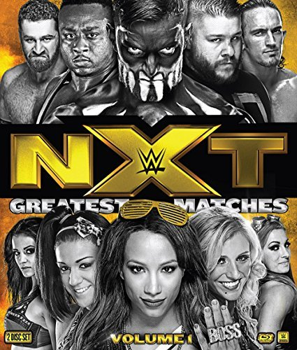 Wwe Nxts Greatest Matches Volume 1 Blu Ray