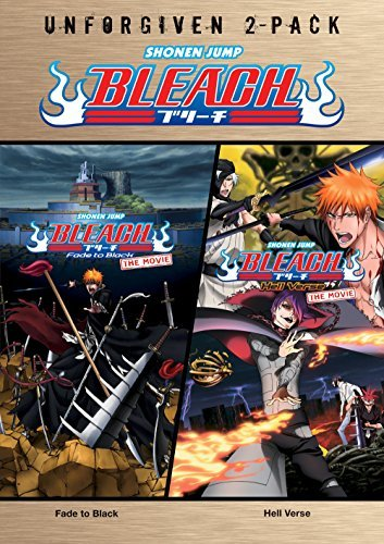 Bleach Movies The Unforgiven Double Feature DVD Nr