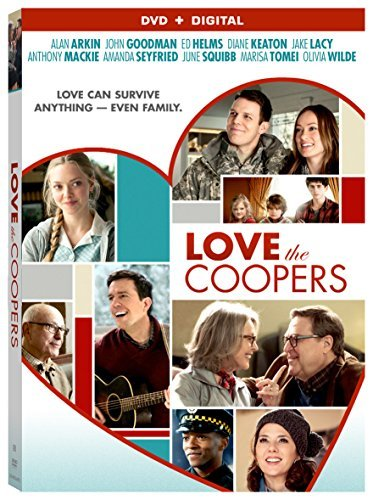 Love The Coopers Keaton Goodman Arkin DVD Pg13