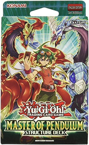 Yu Gi Oh Cards Master Of Pendulum Structure Deck