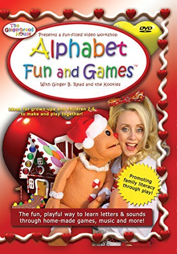 Mrs Gingerbread Gingerbread House Alphabet Fun