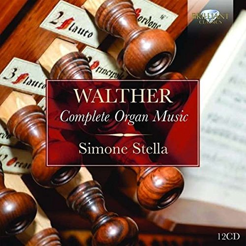 Simone Walther Stella Complete Organ Music 12cd Box Set