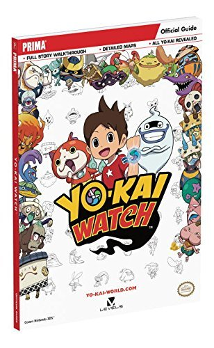 Prima Games Yo Kai Watch Standard Edition Guide