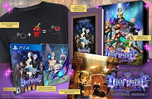 Ps4 Odin Sphere Leifthrasir Storybook Edition