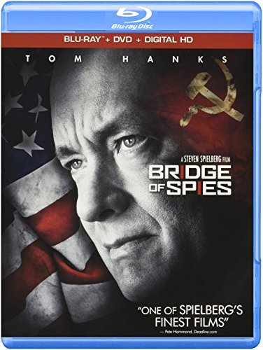 Bridge Of Spies Hanks Rylance Alda Blu Ray DVD Dc Pg13