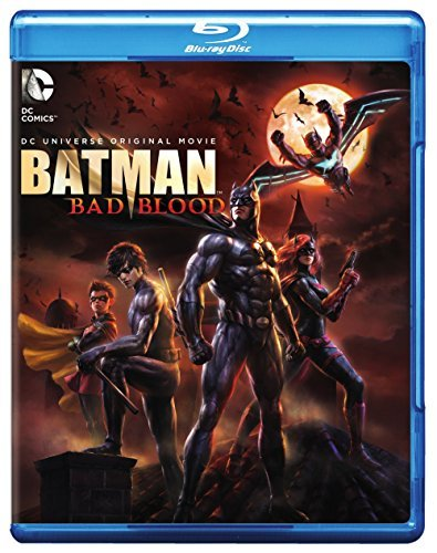 Batman Bad Blood Batman Bad Blood Blu Ray DVD Dc Pg13