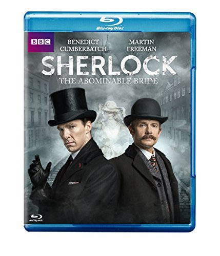 Sherlock The Abominable Bride Cumberbatch Freeman Blu Ray