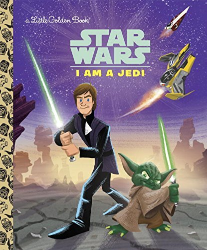 Golden Books I Am A Jedi (star Wars)