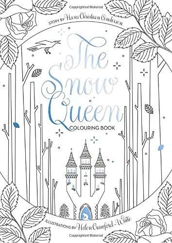 Helen Crawford White The Snow Queen Colouring Book