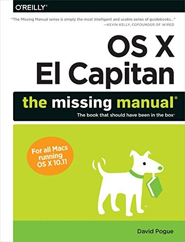 David Pogue Os X El Capitan The Missing Manual