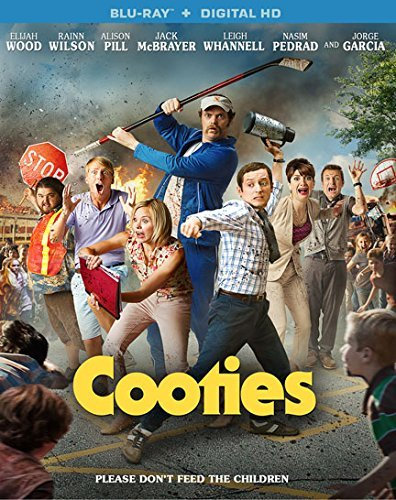 Cooties Wood Wilson Pill Blu Ray Dc R