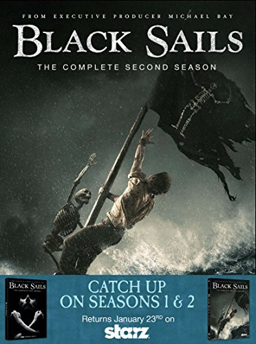 Black Sails Season 1 & 2 DVD