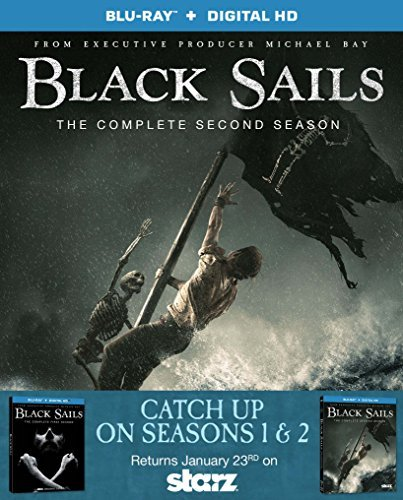 Black Sails Season 1 & 2 Blu Ray