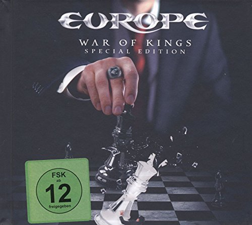 Europe War Of Kings Special Edition CD W Blu Ray