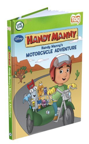 Leapfrog Handy Manny's Motorcycle Adventure Leapfrog Tag Activity Storybook
