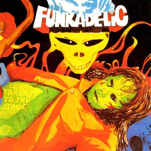 Funkadelic Let's Take It To The Stage Lp