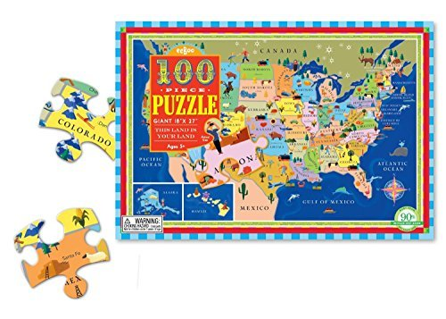 Toy This Land Is Your Land 100 Piece