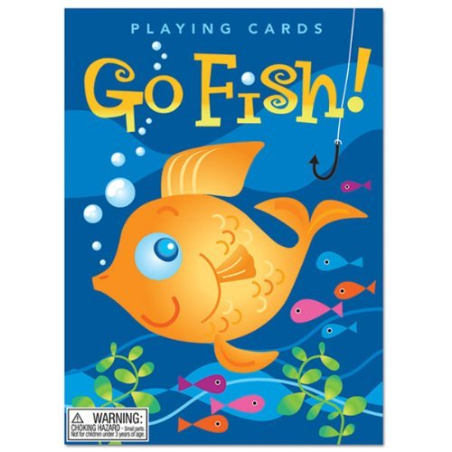 Toy Color Go Fish Playing Cards
