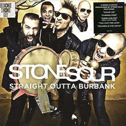 Stone Sour Straight Outta Burbank Clear & Gold Vinyl W Digital Downlad Black Friday & Web Exclusive