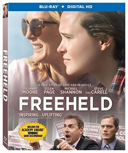 Freeheld Moore Page Carell Blu Ray Dc Pg13