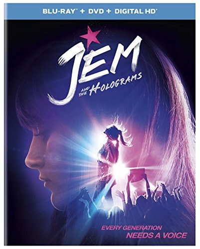 Jem & The Holograms Peeples Scott Perrineau Blu Ray DVD Dc Pg