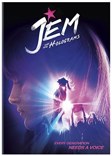 Jem & The Holograms Peeples Scott Perrineau DVD Pg