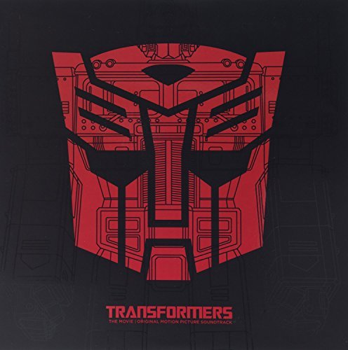 Transformers Soundtrack (red & Purple Etched Vinyl) 2 Lp Transforming Gatefold Jacket