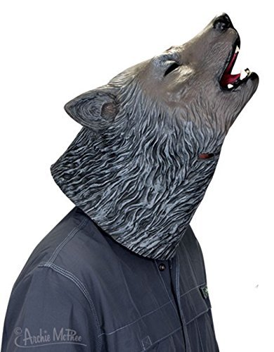 Novelty Howling Wolf Mask