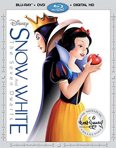 Snow White & The Seven Dwarfs Disney Blu Ray DVD Dc G
