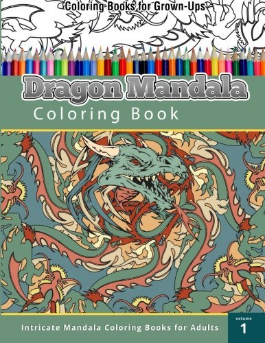 Chiquita Publishing Dragon Mandala Coloring Book