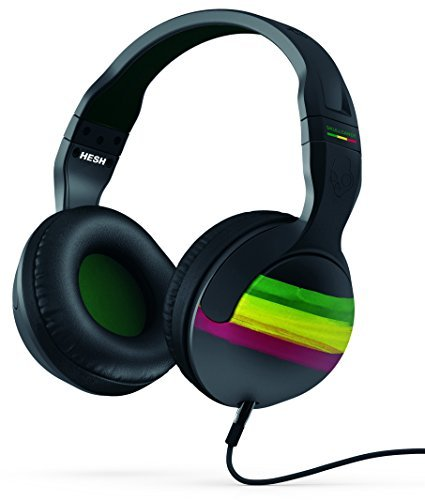 Headphones Hesh 2 Rasta Green Black