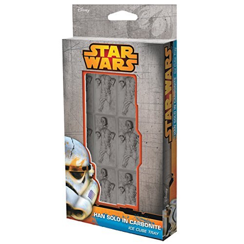 Novelty Star Wars Carbonite Han Solo Ice Cube Tray
