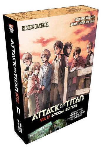 Hajime Isayama Attack On Titan Volume 17 [with Dvd] Special