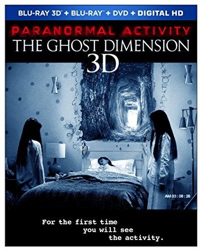 Paranormal Activity The Ghost Dimension Paranormal Activity The Ghost Dimension 3d Blu Ray DVD Dc R