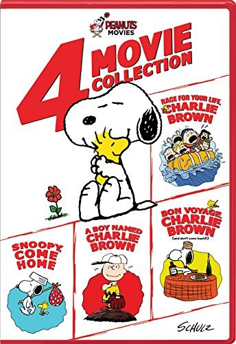 Peanuts 4 Movie Collection DVD