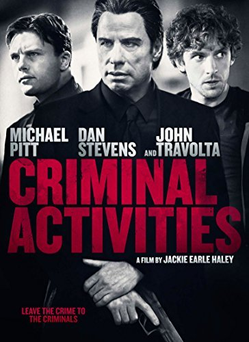 Criminal Activities Pitt Stevens Travolta DVD Nr