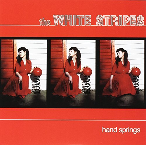 The White Stripes Hand Springs Red Death At 6 14 Black Vinyl