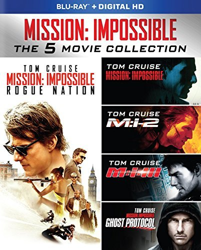 Mission Impossible Ultimate Collection Blu Ray