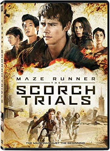 Maze Runner The Scorch Trials O'brien Scodelario Sangster DVD Pg13