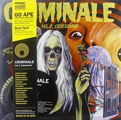 Criminale Volume 2 Ossessione Lp CD