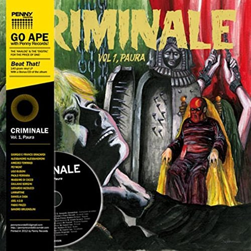 Criminale Volume 1 Paura Lp CD