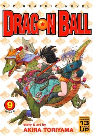 Akira Toriyama Dragon Ball Vol. 9 Dragon Ball Chapter Books